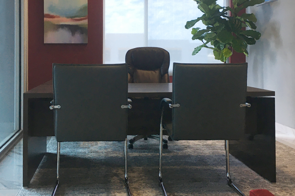 Executive office - Sound of Home Interior Design